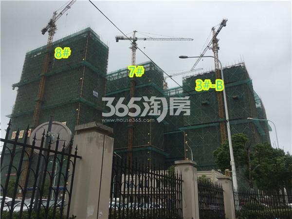 星悦城楼栋施工进展(9.23)