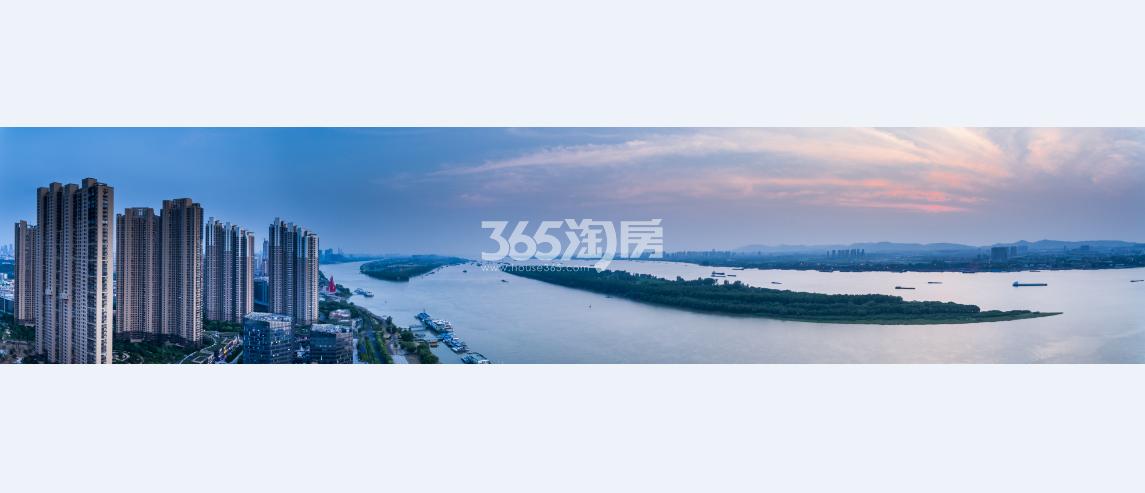 世茂璀璨滨江 江景效果图
