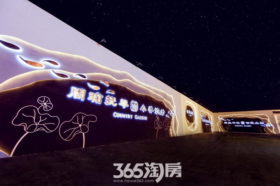 碧桂园塘溪源著样板区实景(2017.12摄)