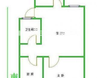 兴都花园 精装修 两室一厅一卫 位置好