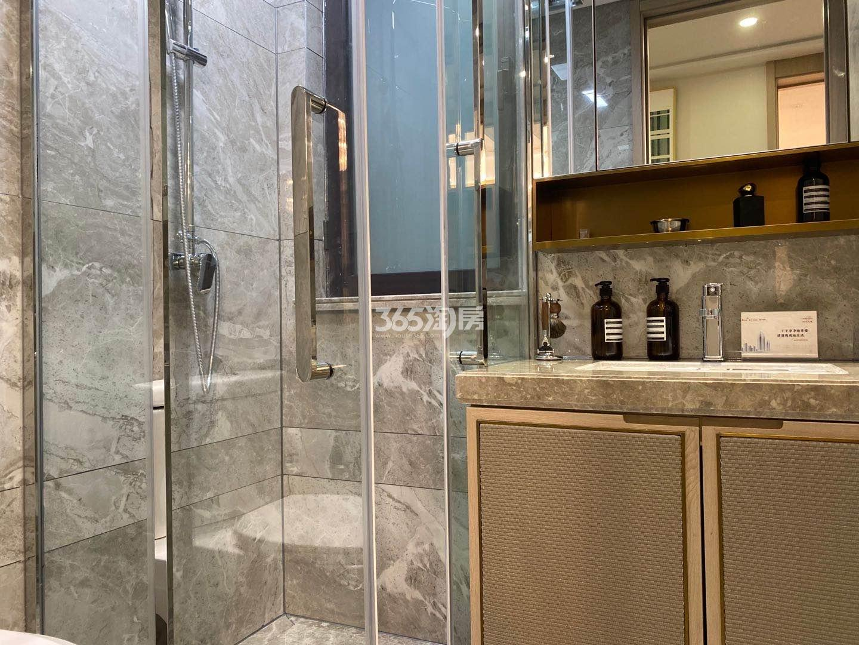 江山大境高层约89㎡样板间-卫浴
