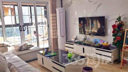 朗诗未来街区3室2厅1卫88平米精装产权房2013年建