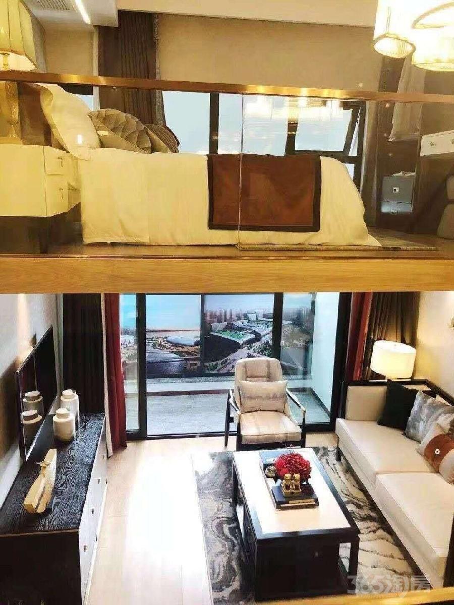 钱江世纪城首付60万左右精装修双钥匙买一层送一层的精装修公寓