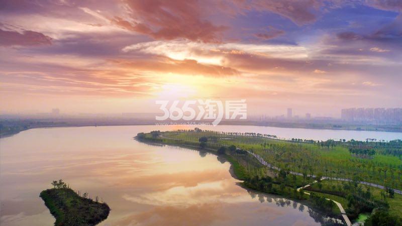 世茂国风见山府周边风景实景(2017.10.30)