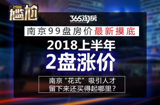 持续止涨!上半年南京仅2家公寓盘涨价 这些区域房价倒挂明显