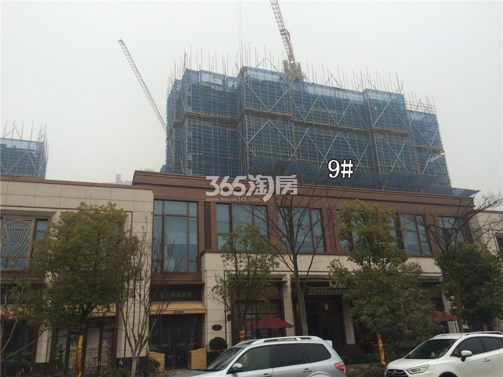 绿地华侨城海珀滨江9#实景图(1.19)