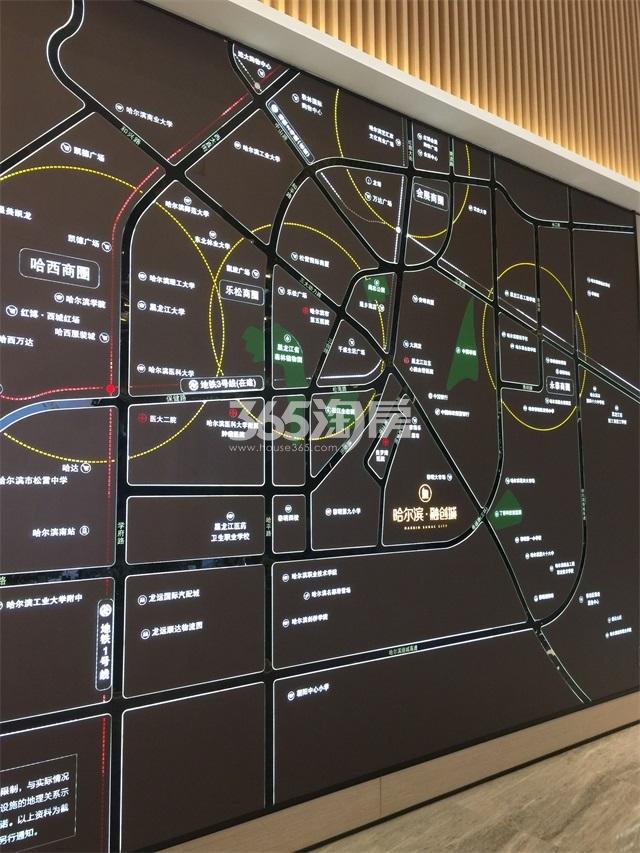 哈尔滨融创城·领域交通图