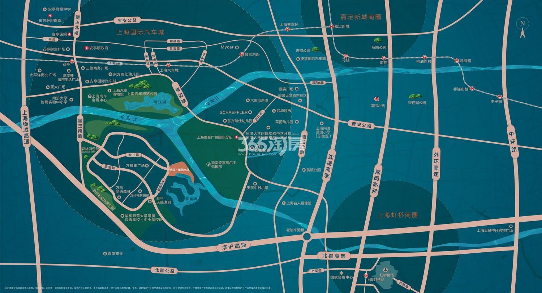 万科·莱茵半岛交通图