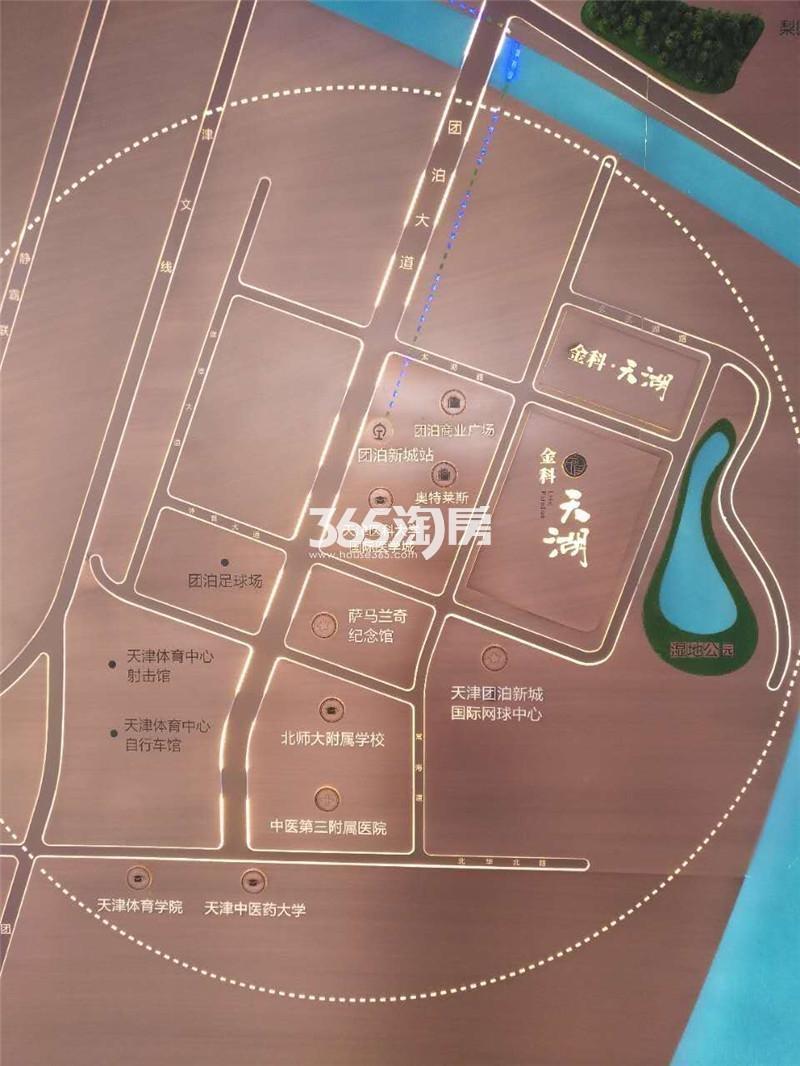 金科天湖交通图