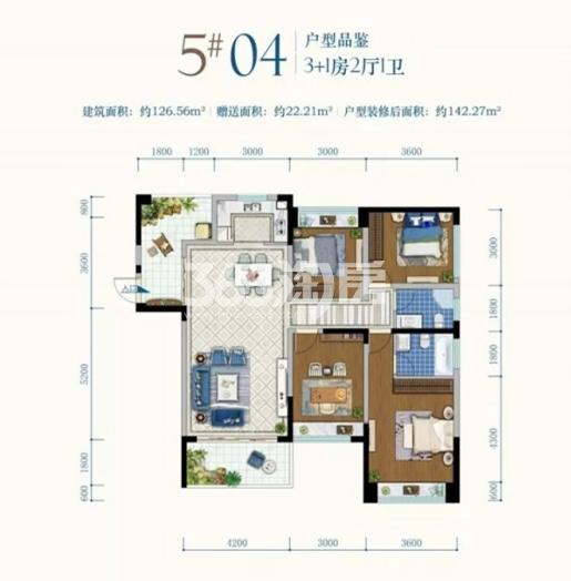 第九湾5#04户型