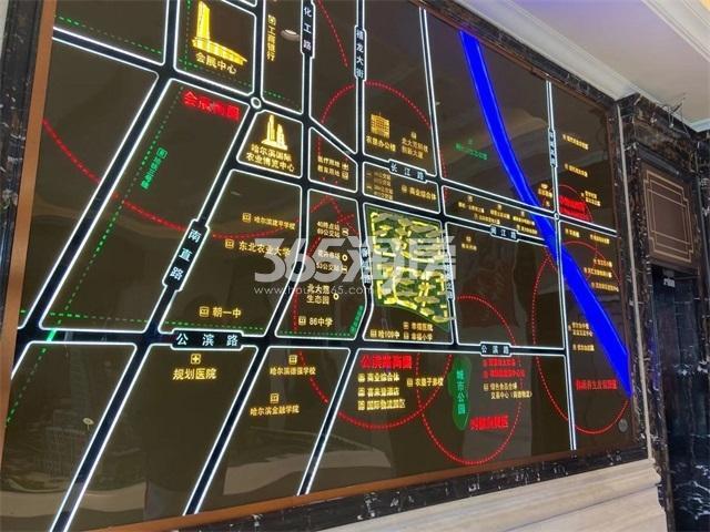 新松·樾尚交通图