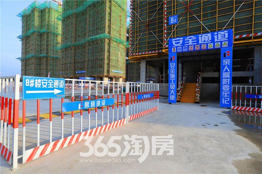 皖新春江明月智慧管理工地(2018.11摄)