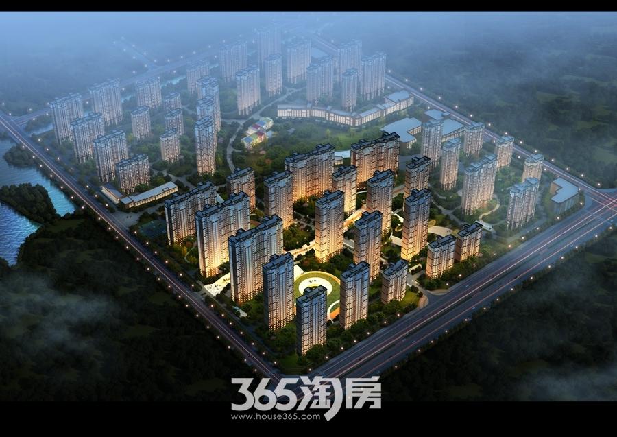 卓瑞北宸新里城鸟瞰图
