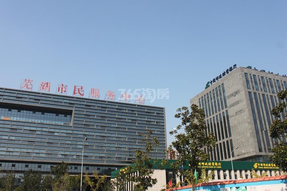 芜湖市市民服务中心-文化配套