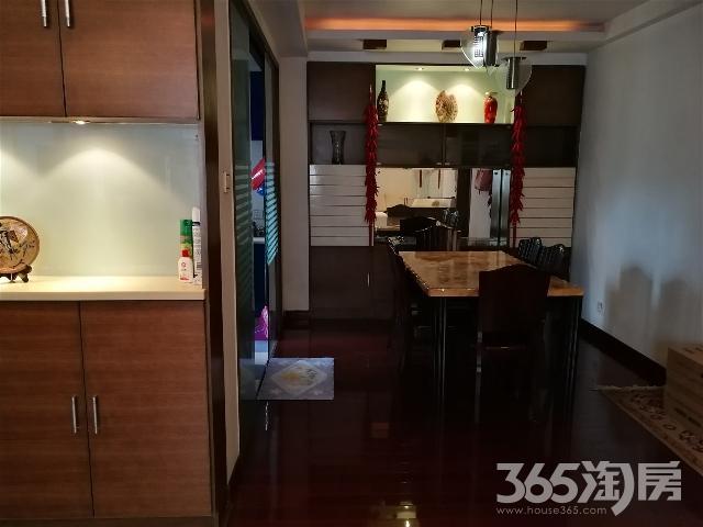 铁佛花园5/18精装全设126平米3室2厅2800/月