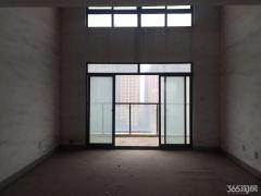 中央城复式房纯毛坯 单价9000 B区中心位置 无限景观