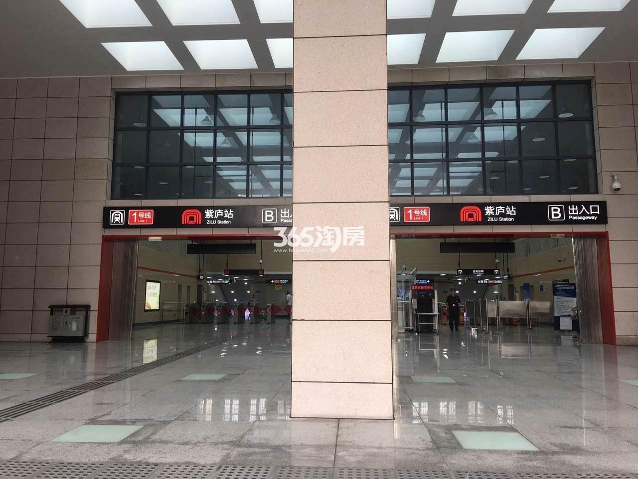 时光印象周边地铁实景图(9.29)