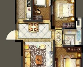 五里墩碧林园 地铁2号线颐和学区 精装三房97平136万超低价急售