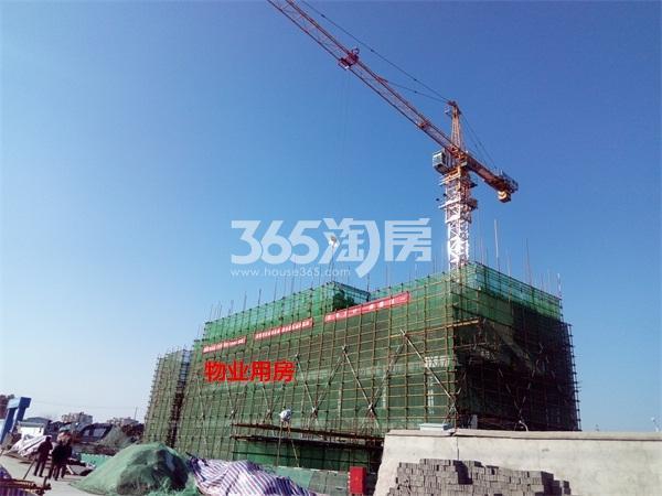 融创淮海壹�物业用房实景图(1.24)