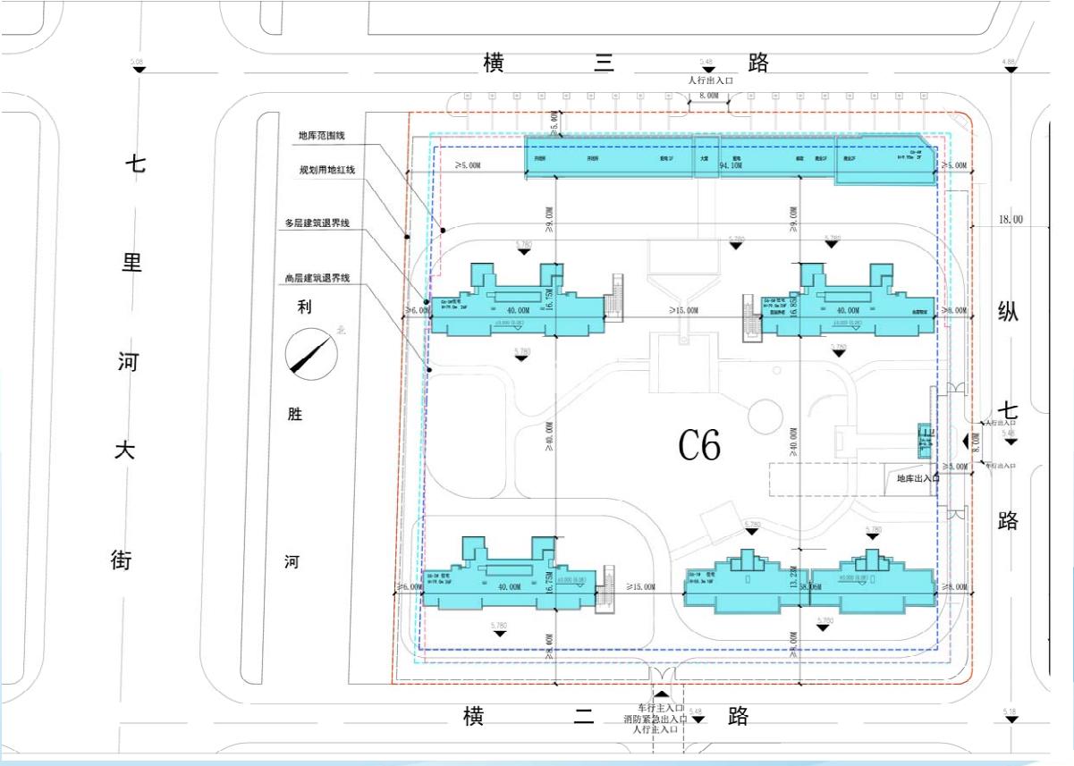 扬子江金茂悦C6地块规划