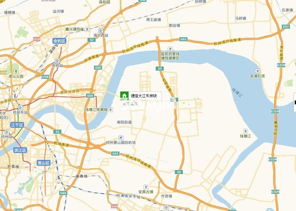 德信大江源著交通图