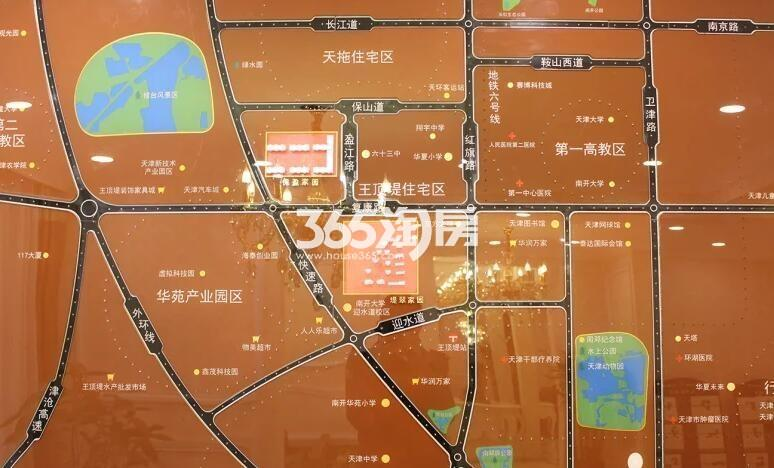 王顶堤故里交通图