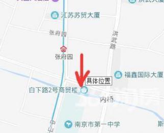 白下路商铺93平方靠近张府园地铁30万租金全包价格