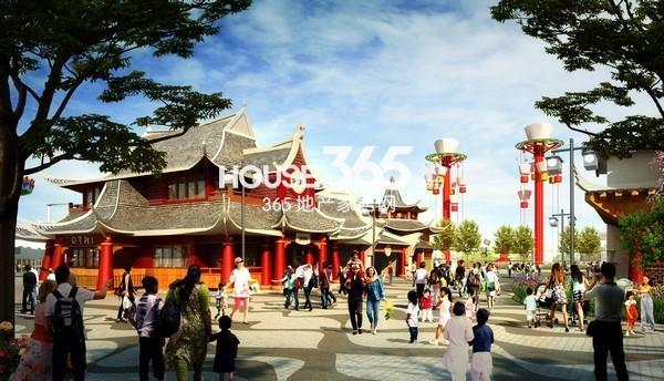 无锡万达文化旅游城主题乐园效果图