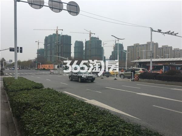 海玥名都交通实景图(12.25)