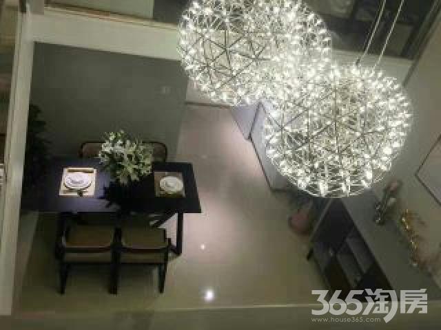 江南国际丝绸城3室2厅2卫89平米2015年产权房精装
