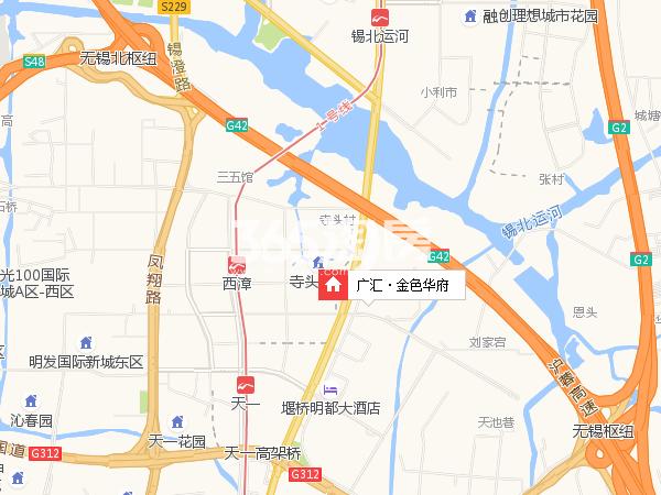 广汇·金色华府交通图