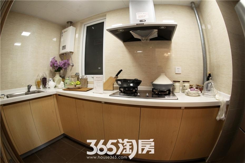 万科海上传奇B3户型约100㎡样板间—厨房