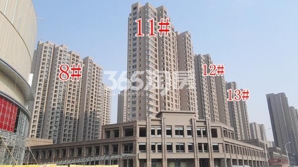 荣盛花语城一期8、11-13#楼工程实景(12.14)