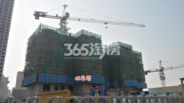 荣盛花语城二期4#楼在建实景(12.14)