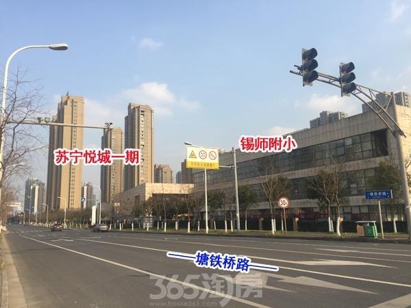 苏宁悦城实景图(2017.1 摄)