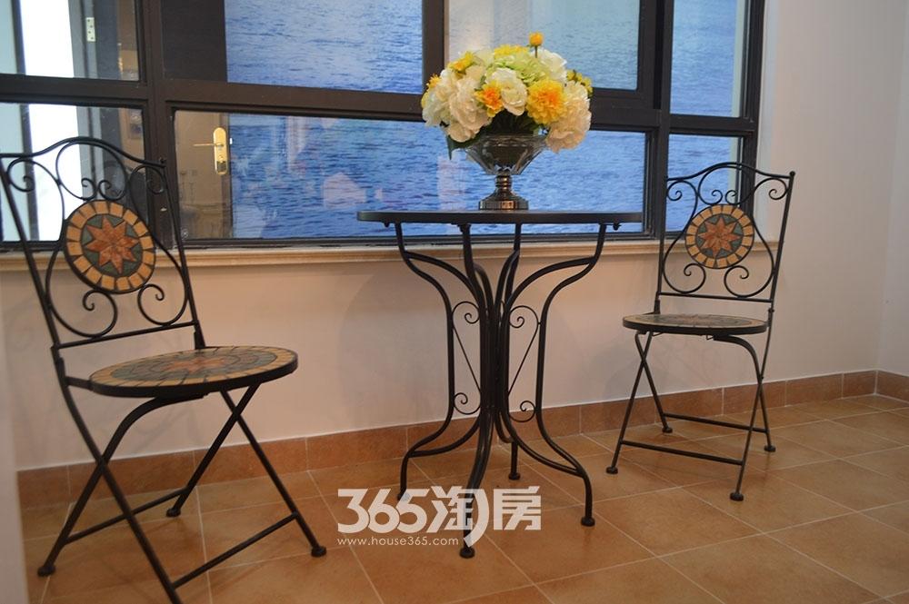 中环云公馆88㎡样板间阳台