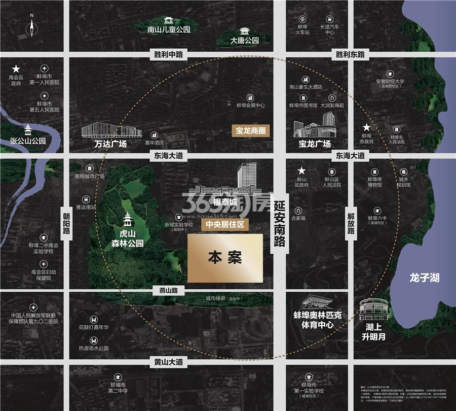 融创山水宸院交通图