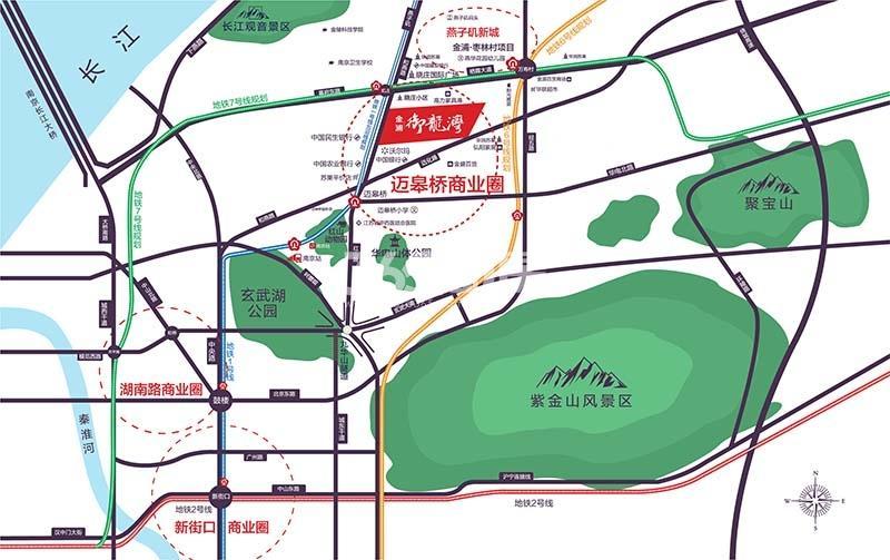金浦御龙湾交通图