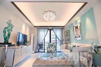 碧桂园翡翠天境3室2厅1卫120平米