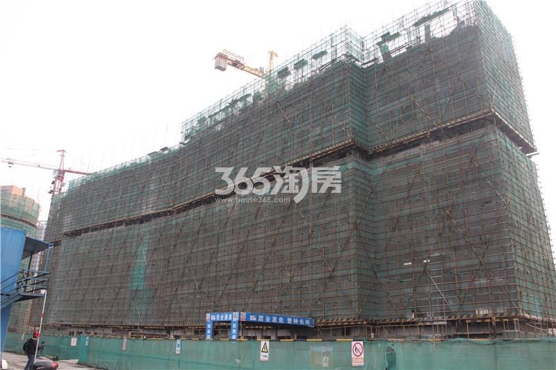 2#楼住宅 主体结构已修建至11层 共18层