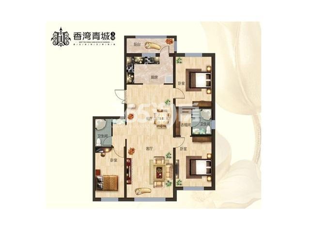 香湾青城户型图