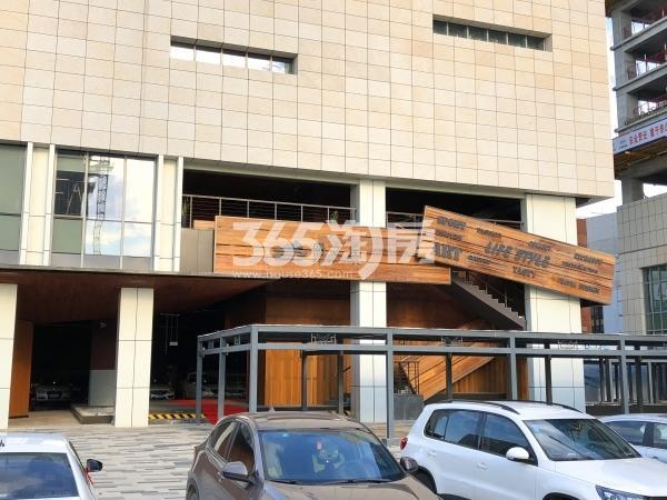 宝能城B地块售楼处册之丘入口实景(2018.9摄)