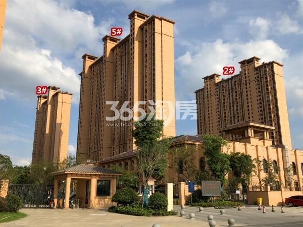 雅居乐中央府B区2#、3#、5#楼现房实景(2018.9摄)