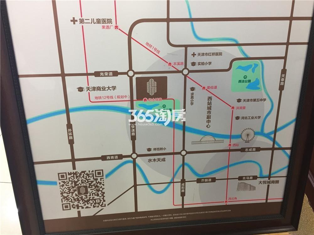 公元大观交通图