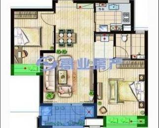 朗诗未来街区 精装两房 采光好 户型朝南 拎包入住 诚售