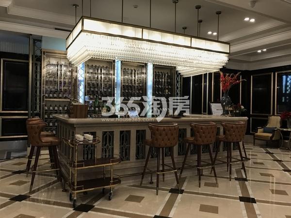 蓝光公园华府售楼部吧台实景拍摄(2017.11.5)