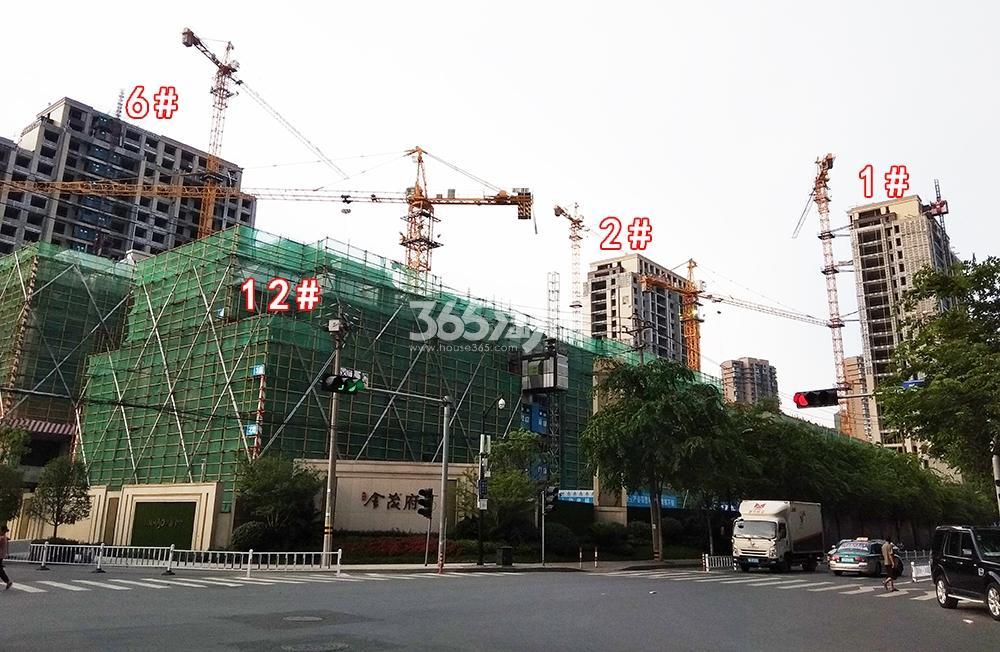 2018年6月底首开杭州金茂府一期1、2、6、12号楼实景