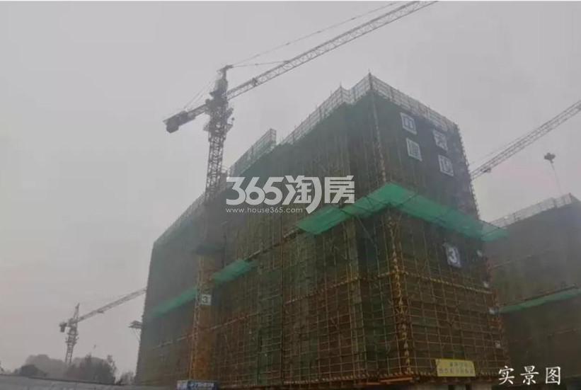 颐和九里3号楼实景图(12.31)