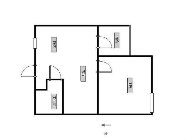 今创启园!正气两房、楼层适中、少税费、看房方便、诚心出售!