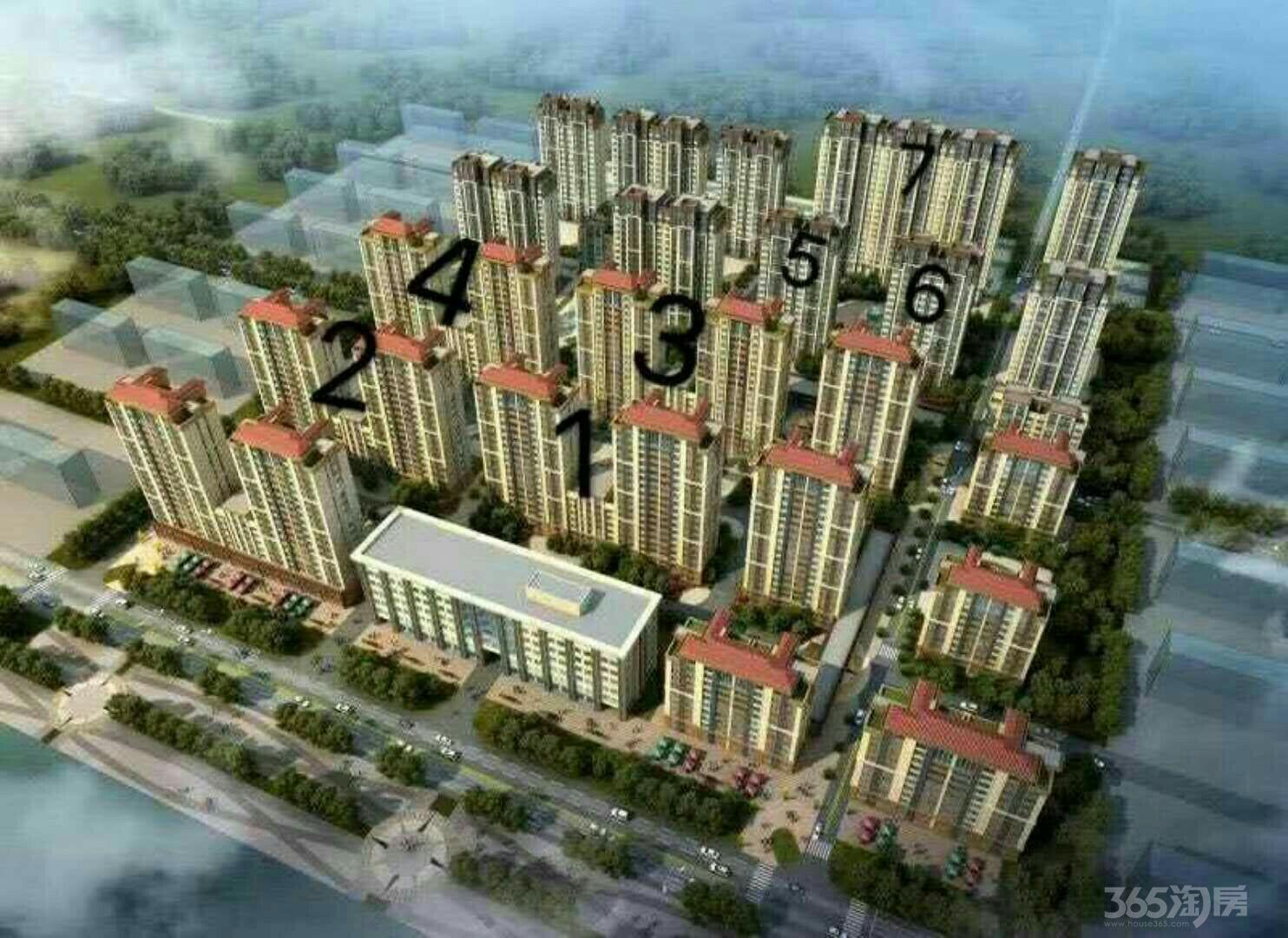 豪庭家园2室2厅1卫70平米70年产权房简装